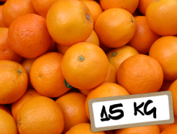 Naranjas Navelina mesa 15Kg