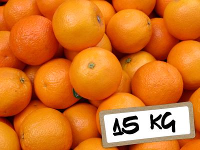 Naranjas Navelate mesa 15Kg