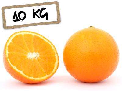 Naranjas Navelate Zumo 10 kg