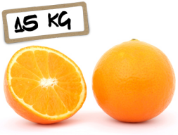 Naranjas Navelina   Zumo 15kg