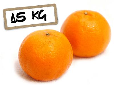 Mandarina 15 kg
