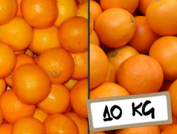 Mesa y Mandarina 10 kg